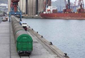 tren (puerto de Bilbao)