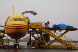 DHL TV Commercial, Silverstone and East Midlands Airport, 6-10th