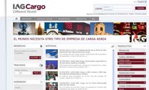 Página web iagcargo