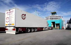 Embarque camiones Puerto de Algeciras