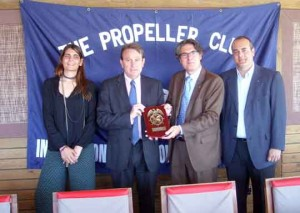 Mónica Comas, Santiago bassols, Albert Oñate y Karlos Martínez Alcalde