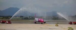 bateig avió Wizz Air GRO