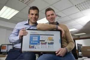 Packlink_Javier Bravo y Ben Askew-Renaut, fundadores de Packlin.es