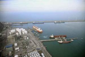 puerto de Bilbao, zona industrial