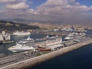 cruceros port barcelona