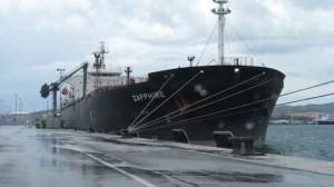 puerto algeciras_Zapphire descargando Graneles Líquidos en CLH