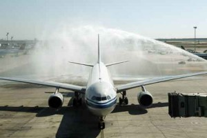 Bateig vol Air China BCN-Beijing2