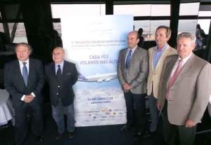 De izquierda a derecha: José Manuel Fernández, Fernando Gonzalo, Joan Marín, José Viaño y Joaquim Pueyo