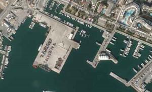 Muelles Comerciales port Eivissa