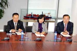 Port Barcelona_Viceministre afers legislatius Xina4