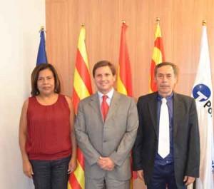 Tarragona_institucional embaixadora Nicaragua