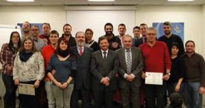 Alumnos de los Cursos de Experto OEA y de Servicios de Inspección en Frontera