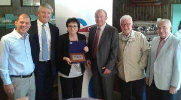 El futuro del tejido empresarial a debate en el Club Transitario Marítimo