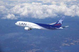 LanChile 767-300 air to air