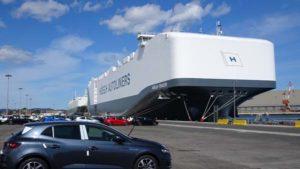 Höegh Tracer en el Puerto de Santander 2