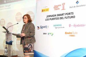 Catalina Grimalt durante su conferencia. © Executive Fórum