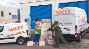 Las campañas solidarias de Nacex