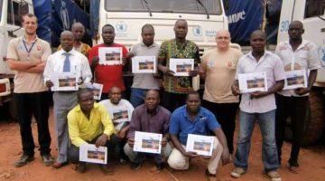 Voluntarios de Renault Trucks explican sus experiencias en África