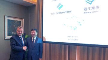 El Port de Barcelona inaugura el Maritime Silk Road Port International Cooperation Forum