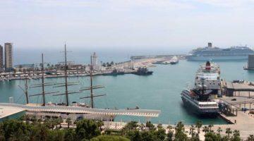 Los tráficos del Puerto de Málaga crecen un 3,8% hasta mayo