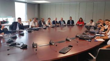 La Escola Europea forma a una delegación argelina en materia de Ventanilla Única
