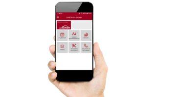 App de Linde para la gestión de la flota de carretillas