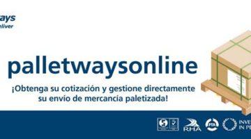 Palletways Iberia lanza su nueva plataforma PalletwaysOnline